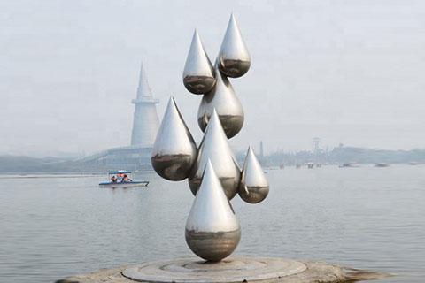 stainless steel sculptrue
