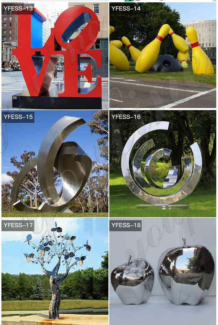 contemporary metal sculptures